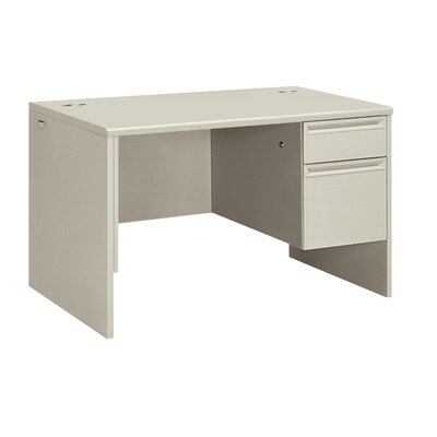 "HON 38000 Series 48"" W Right Pedestal Office Computer Desk"