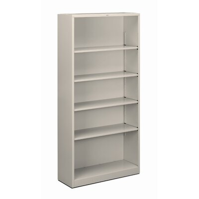 "HON 71"" H Five Shelf Steel Bookcase"