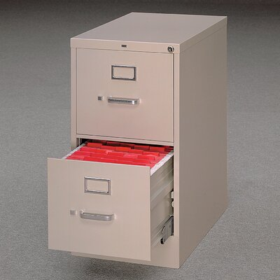 HON 510 Series Two-Drawer Letter Vertical File