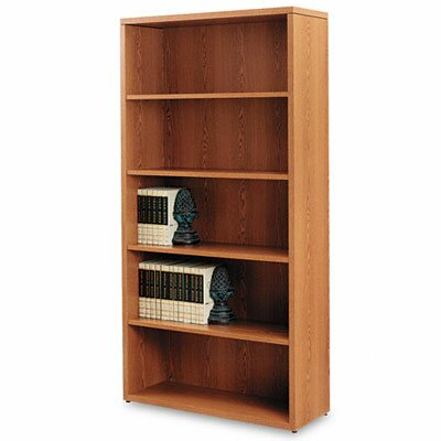 HON 10500 Series Bookcase, 5 Shelves, 36W X 13-1/8D X 71H