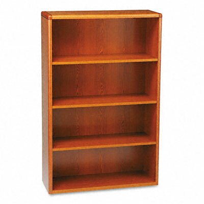 HON 10702 Series Bookcase, 4 Shelves