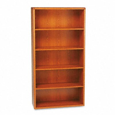HON 10704 Series Bookcase, 5 Shelves