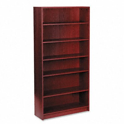 HON 1870 Series Bookcase, 6 Shelves, 36W X 11-1/2D X 72-5/8H