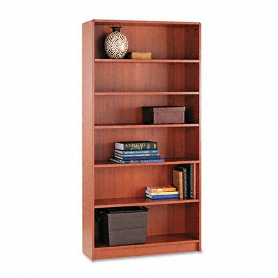 HON 1890 Series Bookcase, 6 Shelves, 36W X 11-1/2D X 72-5/8H