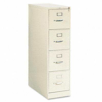 HON 210 Series Four-Drawer, Full-Suspension File, Letter, 28-1/2D