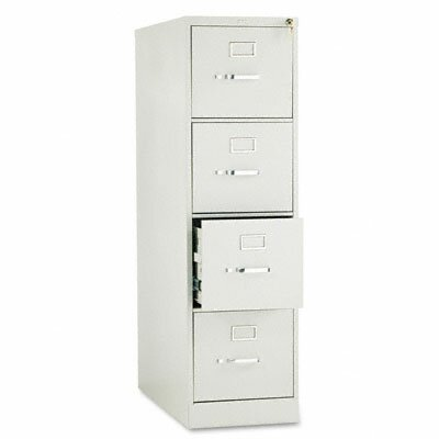 HON 210 Series Four-Drawer, Full-Suspension File, Letter