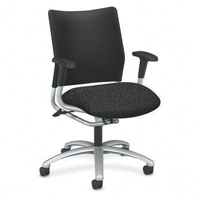 HON Mid-Back Armless Swivel / Tilt Office Chair