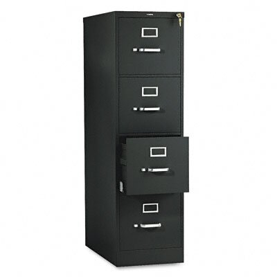 HON 510 Series Four-Drawer Letter Vertical File