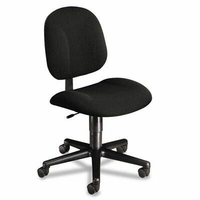 HON Mid-Back Pivot Swivel Task Chair, Olefin Fabric