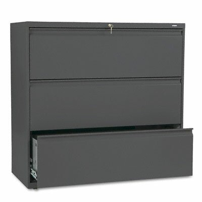 HON 800 Series Three-Drawer Lateral File