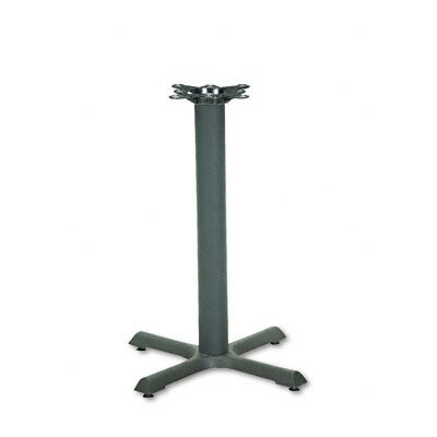 "HON Single Column Cast Iron Base, 22"" Wide"