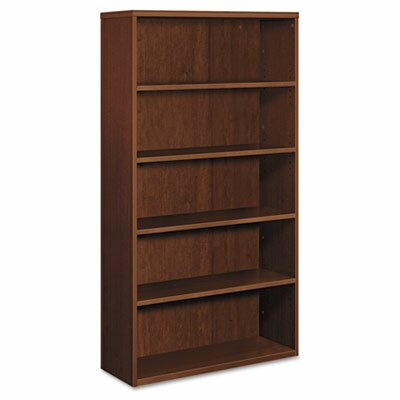 HON Bookcase, Five Shelves, Cherry