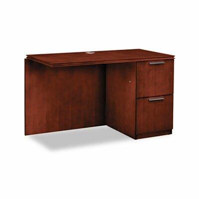 HON Single Pedestal Right Desk Return