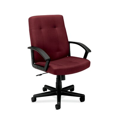 HON HVL602 Mid-Black Executive Chair