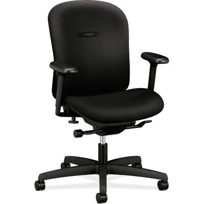 HON Mirus Series Low-Back Office Chair with Arms