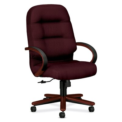 HON 2190 Pillow-Soft Wood Series Executive High-Back Chair