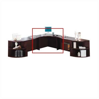 "HON 10500 Series Curved Corner Workstation, 36"" Wide"