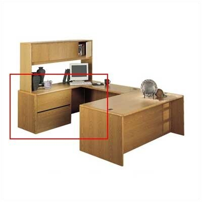 "HON 10700 Series Credenza with Left 36"" W Lateral File"