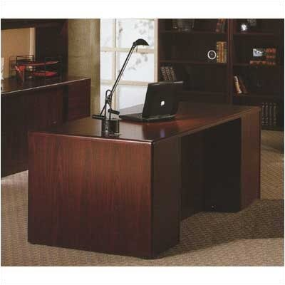 "HON 10700 Series 72"" W Double Pedestal Executive Desk"