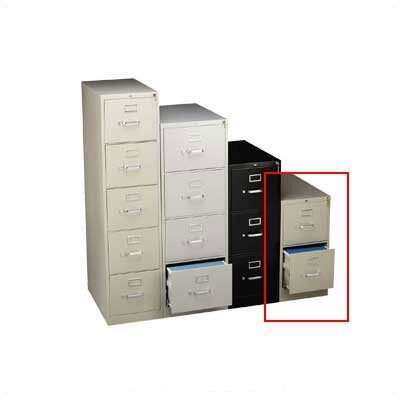 HON 310 Series Two-Drawer Legal Vertical File