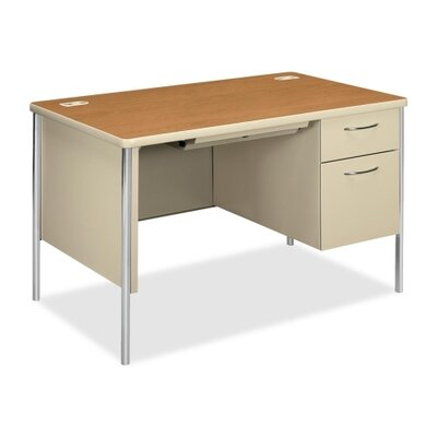 HON Right Pedestal Desk