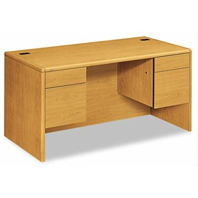 HON 10700 Series Executive Desk with Double Pedestals