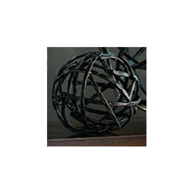 <strong>Global Views</strong> Strap Sphere Sculpture