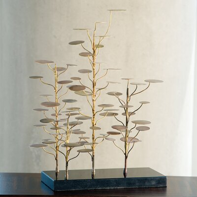 Global Views Eucalyptus Tree Decorative Accent Figurine