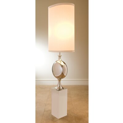 Global Views Big Pill Nickel Floor Lamp