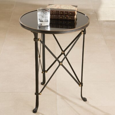 Global Views Draw Attention End Table