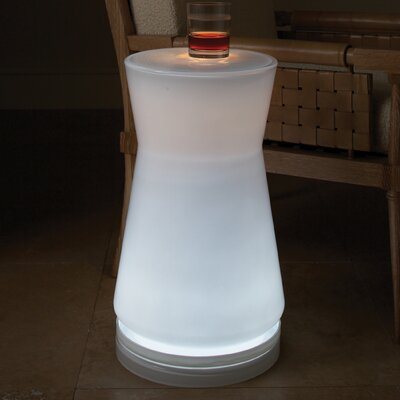 Global Views Lighted End Table