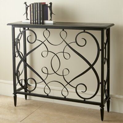 French Panel Console Table