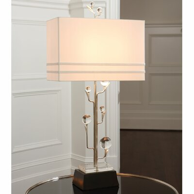 "Global Views Tree 37.5"" H Table Lamp with Rectangle Shade"
