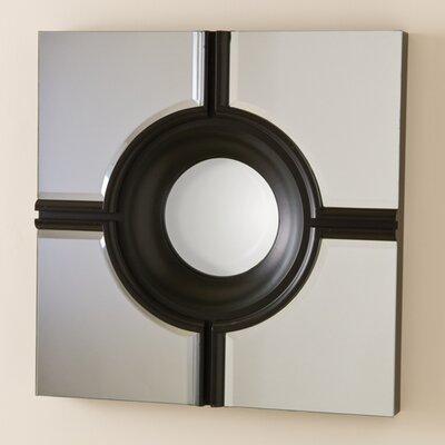 Global Views Bull's Eye Cross Mirror