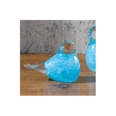 Global Views Baby Blue Bird Decorative Accent