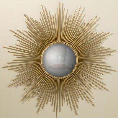 "Global Views 39.5"" H x 39.5"" W Sunburst Mirror"