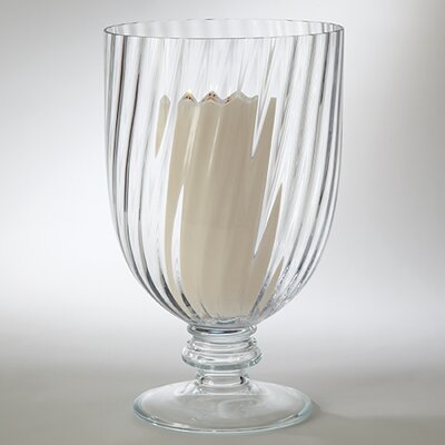 Global Views Glamour Hurricane Vase Candle Holder