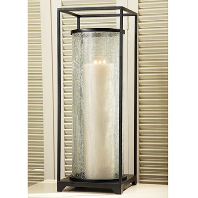 Global Views Tall Open Cube Lantern