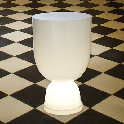 Global Views Lighted Conga End Table