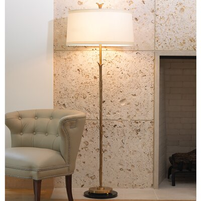 Global Views Organic 2 Light Floor Lamp