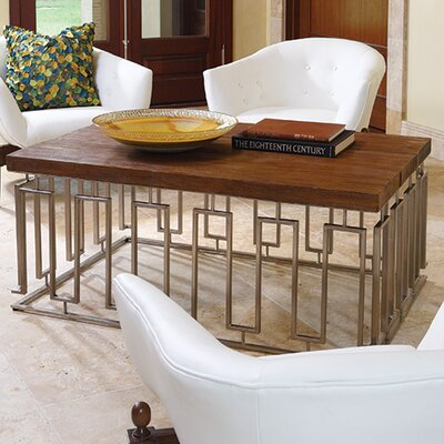 Global Views Pinned Key Coffee Table