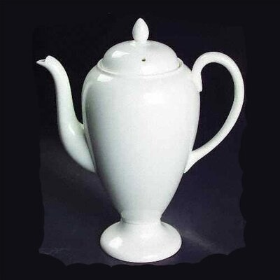 Wedgwood White 1.6 Pt. Coffeepot
