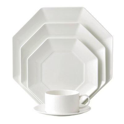 Wedgwood Ashlar 5 Piece Octagonal Place Setting
