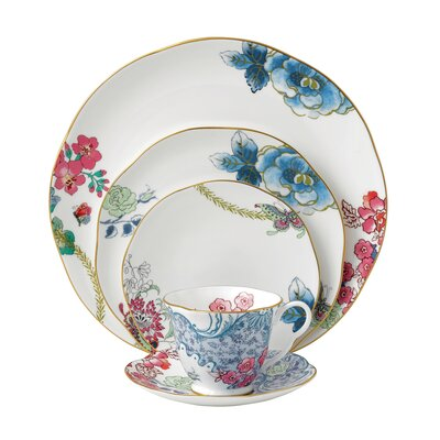 Harlequin Butterfly Bloom Dinnerware Set