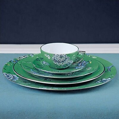 Chinoiserie Green Dinnerware Collection