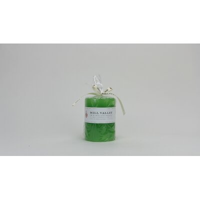 Mill Valley Candleworks Tulip Scented Pillar Candle