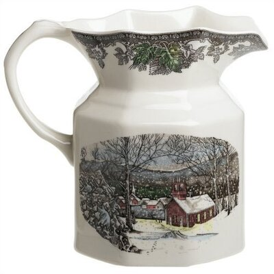 Friendly Village Large Pitcher