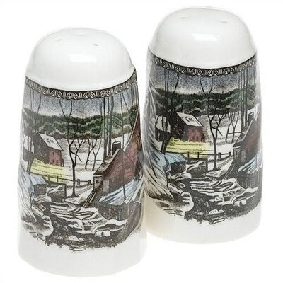 Johnson Brothers Friendly Village Salt & Pepper Set