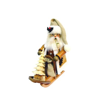Christian Ulbricht Santa on Sled Incense Burner