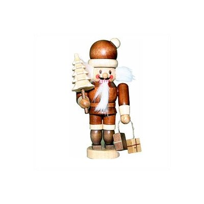 Christian Ulbricht Natural Light Wood Mini Santa Nutcracker